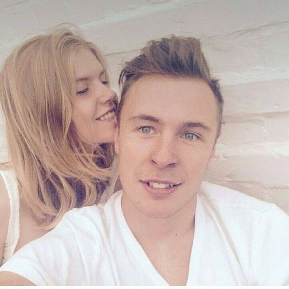 Thibault woont pas twee maanden samen met zijn vriendin Kiana in Veurne