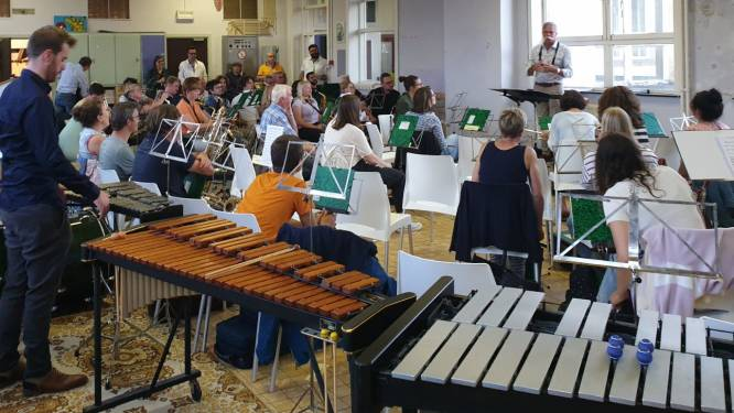 Koninklijke Poperingse Harmonie Sint-Cecilia start in nieuw lokaal op Vroonhofsite