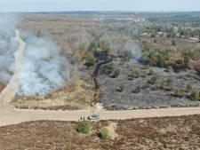 Rookgranaat van leger veroorzaakte brand op Leusderheide: één hectare natuur verloren