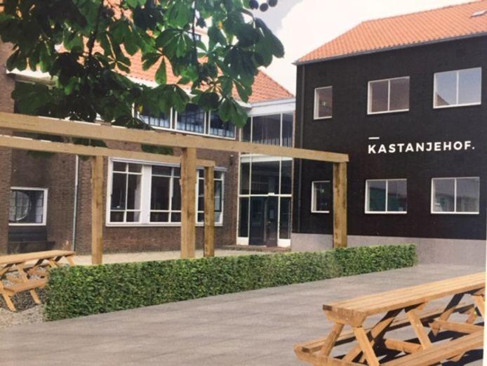 Startershuis Doen! is gehuisvest in de voormalige basisschool Kastanjehof.