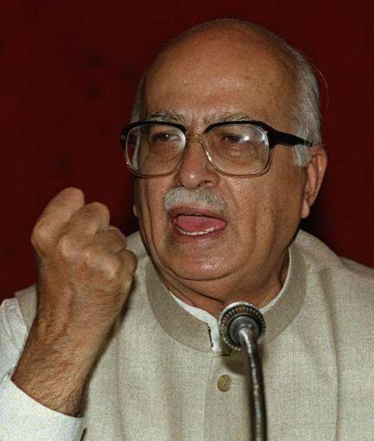 Advani had het over een ommekeer. Beeld UNKNOWN