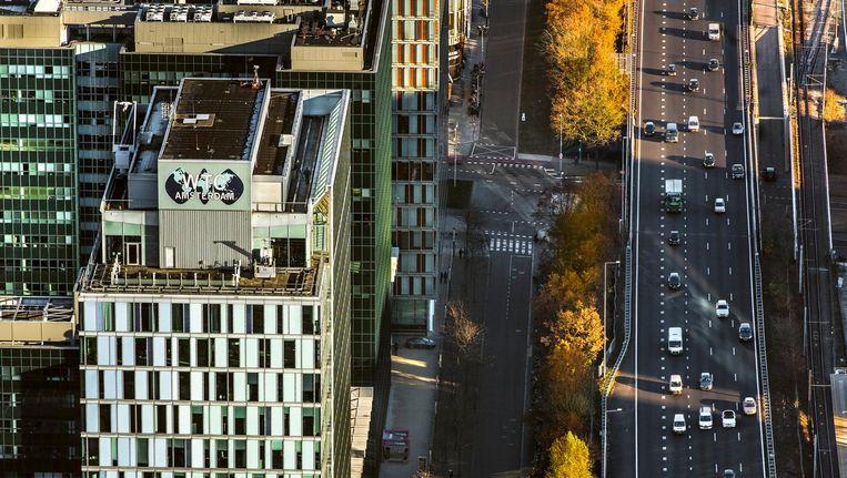 Vorig jaar kwamen 157 nieuwe buitenlandse bedrijven naar Amsterdam. Beeld John Gundlach/ANP