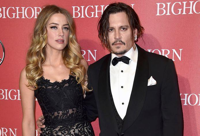 Amber Heard en Johnny Depp.