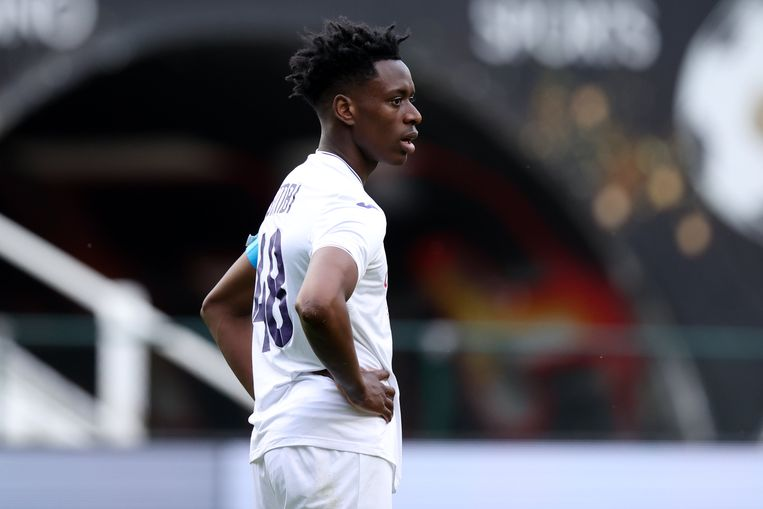 Albert Sambi Lokonga (Anderlecht). Beeld Photo News