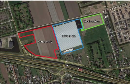 De verschillende eigenaars van de grond tussen de Mortelweg, Wolput en Abt van Engelenlaan in Vlijmen.