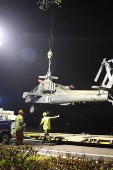 Defensie brengt Apache vanavond naar Gilze-Rijen