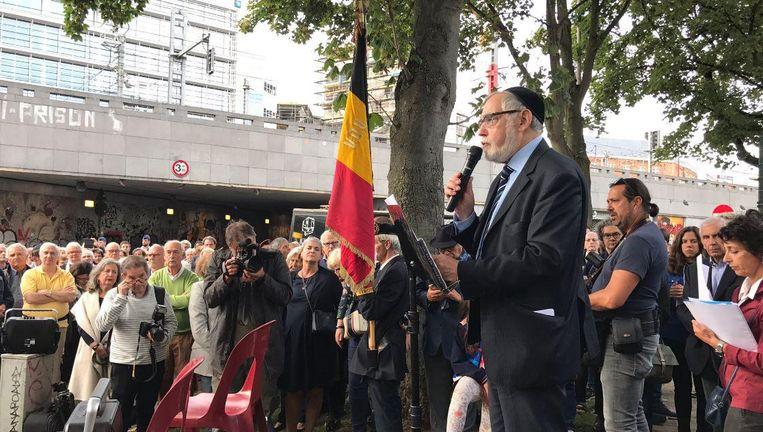 De herdenking van de razzia in de Marollen, 75 jaar later.