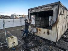 10.000 euro opgehaald na afbranden GGD-teststraat op Urk