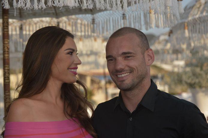 Wes en Yo op Ibiza, in 2017.