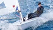 Emma Plasschaert al zeker van zilver op WK zeilen na opgave concurrente