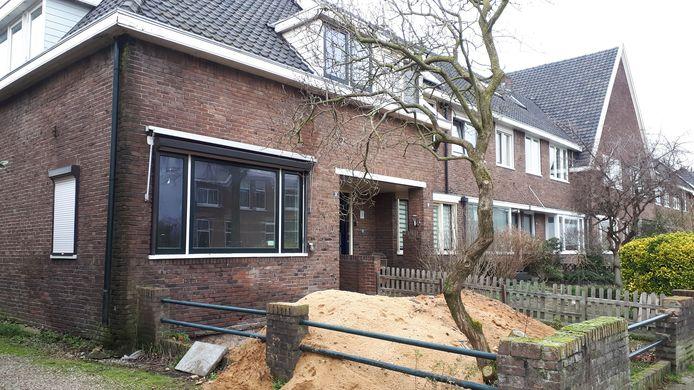 Woning aan de Wezenlaan in Nijmegen.