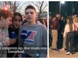 """Ook in Luik bomvol park: """"We zijn jong, we hebben maar een leven"""""""