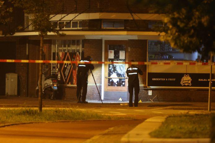 Explosie bij slagerij Jaraya in Den Bosch.