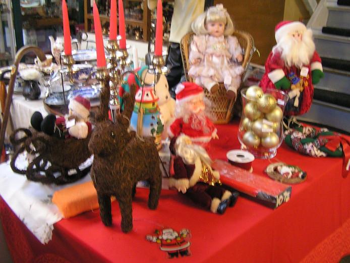Een kerstmarkt.