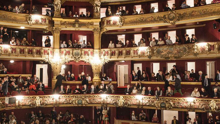 Opera in De Munt in Brussel.