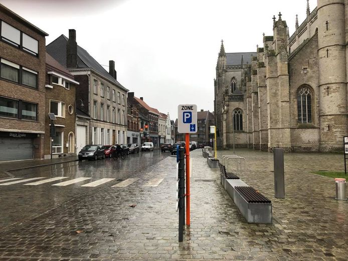 De Sint-Medardusstraat is voortaan ook blauwe zone.