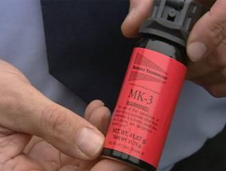 4 maanden cel voor pepperspray in gezicht avondlijke bezoeker