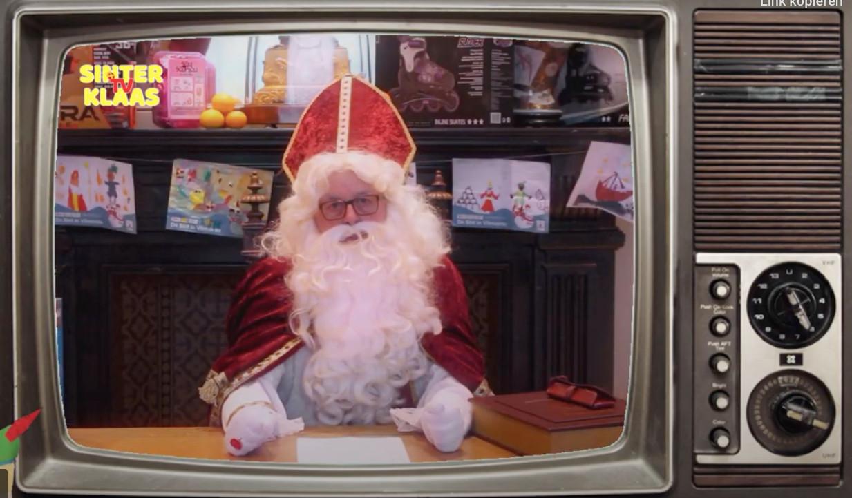 Boodschap van Sinterklaas.