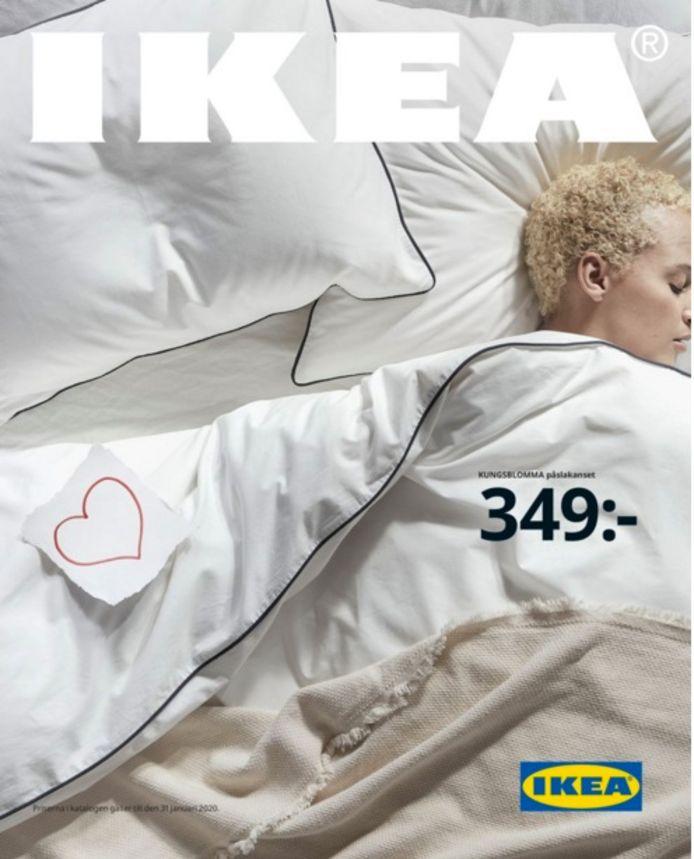 Ikea cover cataloog door de heen