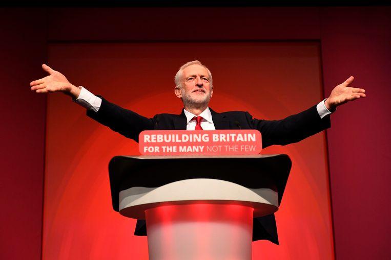 Jeremy Corbyn. Beeld AP