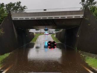 Tunnel in Roerdompstraat afgesloten door wateroverlast