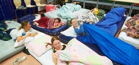 Laatste schooldag is in Heesch een slapeloze schoolnacht
