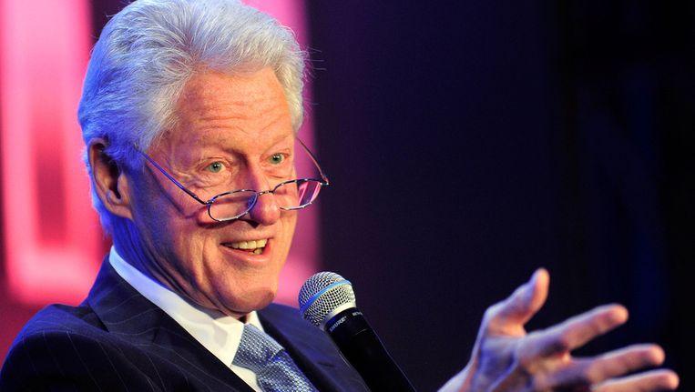 Bill Clinton. Beeld getty