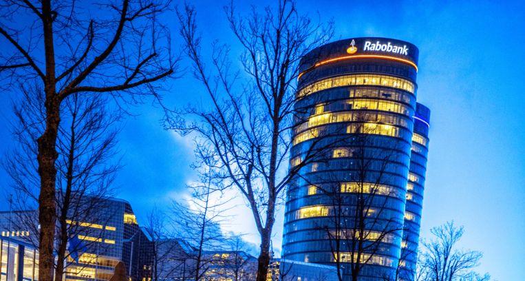 Het hoofdkantoor van de Rabobank in Utrecht Beeld Raymond Rutting / de Volkskrant