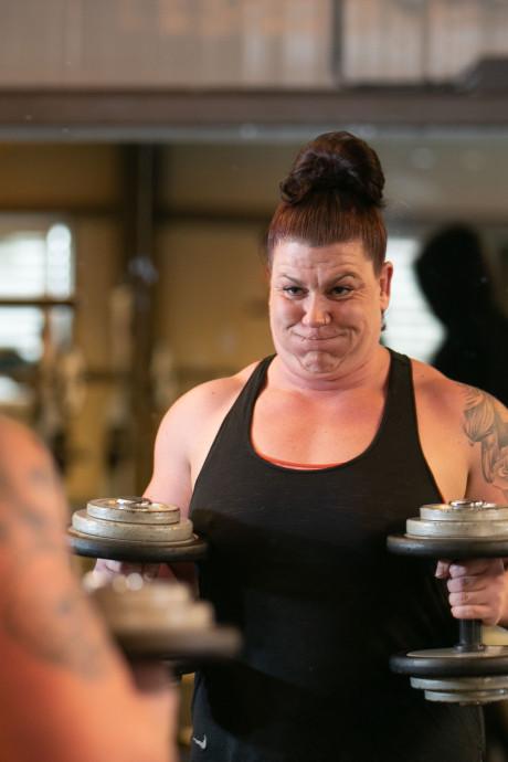 Powervrouw Patricia uit Lelystad knalt met kilo's op jacht naar wereldtitel