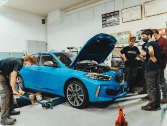 BMW schenkt auto aan VTI Brugge
