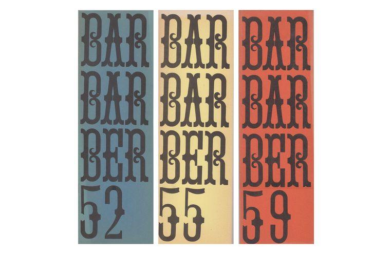 Barbarber nr 52 verscheen in mei 1967, nummer 59 (april 1968) was geheel gevuld met behangpapier. Beeld Literatuurmuseum