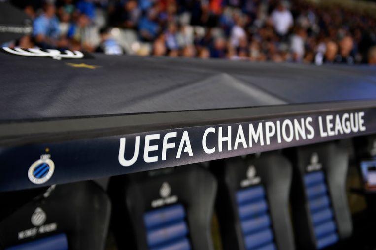 Club Brugge is, samen met Genk, de Belgische deelnemer aan de Champions League. Beeld Photo News