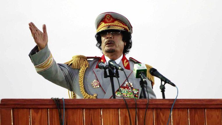 Muammar Kaddafi Beeld reuters