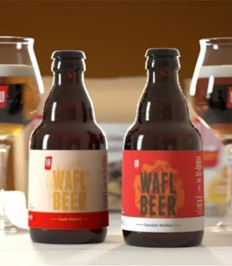 LU lance une bière à la gaufre (et il faut se dépêcher pour la goûter)