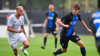 Club Brugge raakt niet voorbij stug Beerschot na twee blunders in eerste helft
