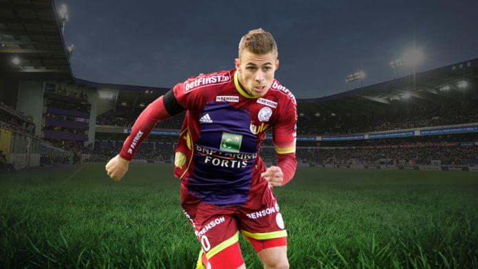 Thorgan Hazard, between Zulte Waregem and Anderlecht. Transfer soap.
