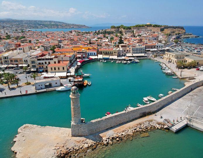 Illustratiebeeld. Het plaatsje Rethymnon op het Griekse eiland Kreta.