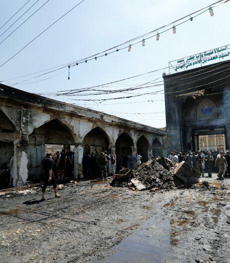 L'EI revendique l'attaque contre le mausolée chiite