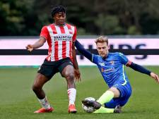 Jong PSV pakt met veel nieuwelingen punt tegen TOP Oss