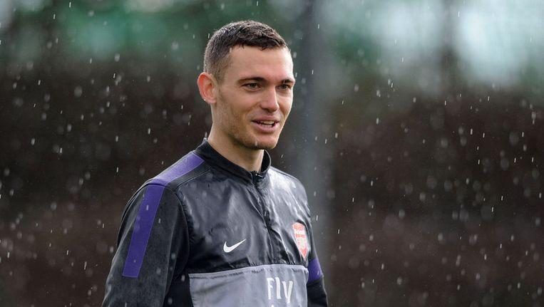 Vermaelen heeft het uitstekend naar zijn zin bij Arsenal. Beeld GETTY