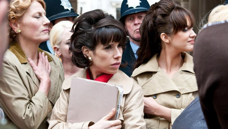 Sally Hawkins in Made in Dagenham. Beeld null