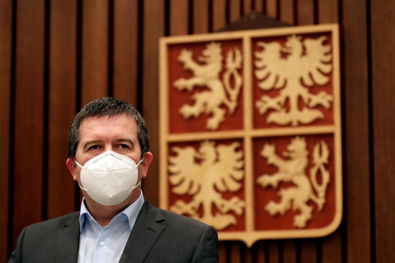 Tsjechisch minister van Binnenlandse Zaken Jan Hamacek.