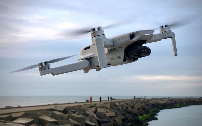 Dit is de drone waarmee Wiebe de Jager een 'little planet' maakte van het Valkenbosplein