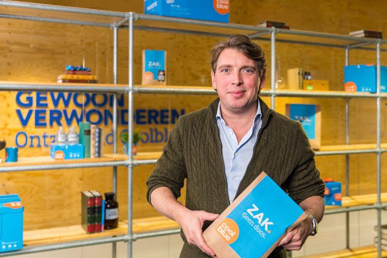 CEO Pieter Zwart noemt zich 'beginbaas' en maakt 'Pieterpraatjes' op sociale media. Beeld Coolblue