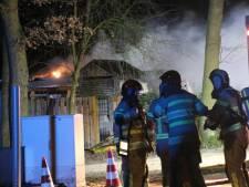 Vakantiebungalow volledig uitgebrand bij Europarcs in Biddinghuizen