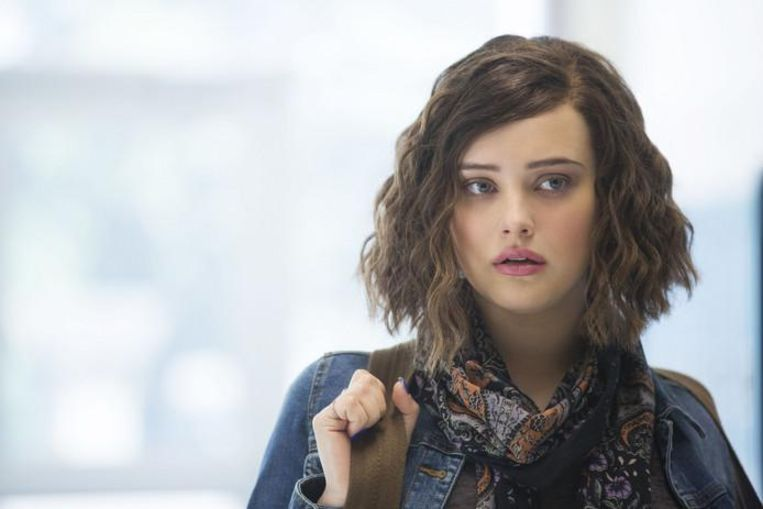 Katherine Langford als Hannah Baker in '13 Reasons Why' op Netflix