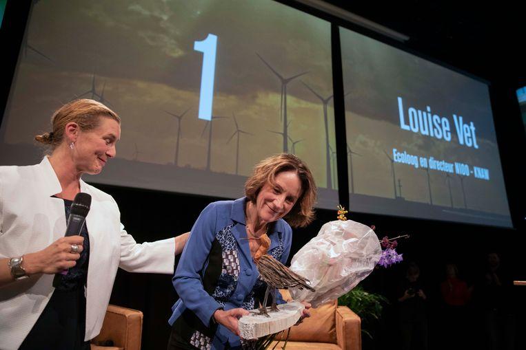 Louise Vet, nummer 1 van de Duurzame 100.  Beeld werry crone