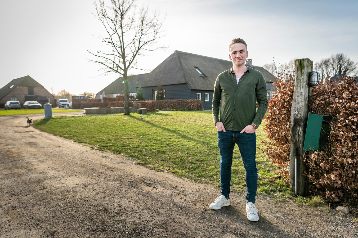 Luc van Gorkum in Olland, een van de vele jonge woningzoekenden in Meierijstad.