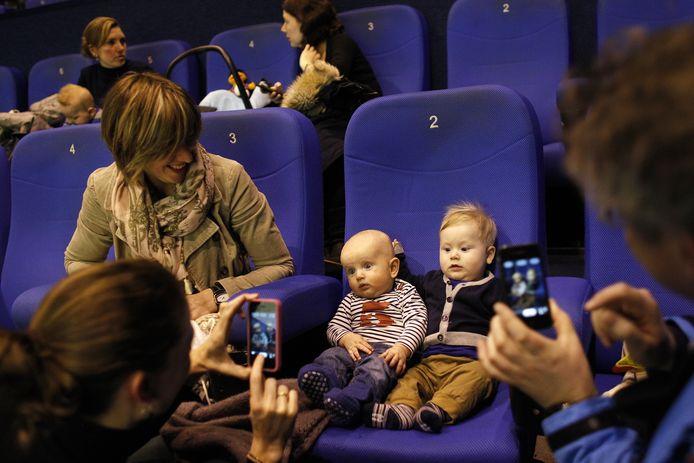 Ook bioscoop Pathé in Breda experimenteerde al eens met een heel jeugdig publiek