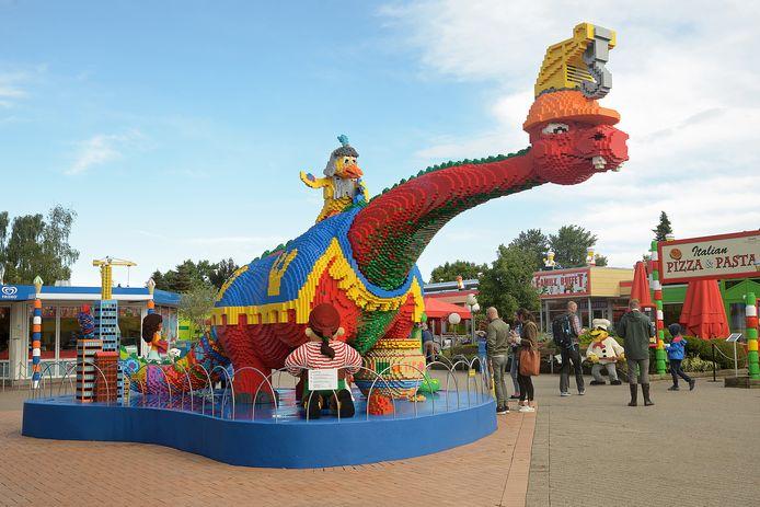 Legoland in Billund, Denemarken.